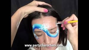 frozen face painting tutorial youtube