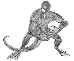 amazing spider man lizard coloring pages