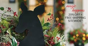 Outdoor Christmas Decorations International Shipping by