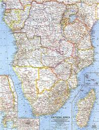 africa map map southern africa map