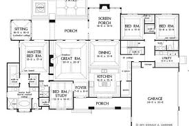 big kitchen house plans large one story house plan big kitchen with walk in big one story