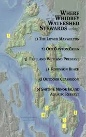 Whidbey Island Map Stewardship Whidbey Watershed Stewards