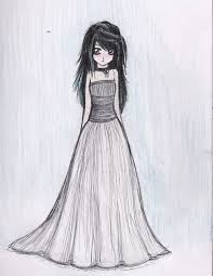 drawings of a in a dress best 20 simple sketches ideas on