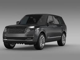 range rover white 2016 range rover svautobiography l405 2016 3d model vehicles 3d models