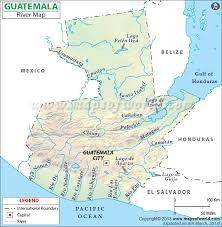 map of guatemala cities river map