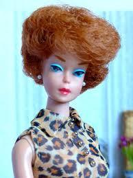 bubble cut hair style vintage red hair doll details about jolie poupée barbie bubble