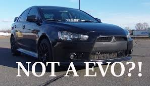 stanced mitsubishi lancer done up 2013 lancer gt review youtube
