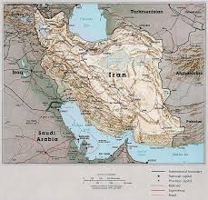 Map Of Abu Dhabi Map Modern Iran Informed Comment
