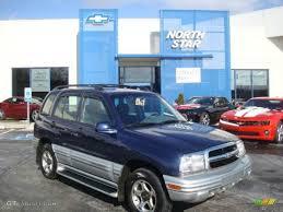 chevy tracker convertible 2001 dark blue metallic chevrolet tracker lt hardtop 4wd 25352550