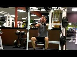 Seated Bench Press Hammer Strength Seated Chest Press Youtube