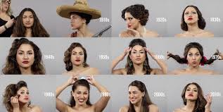 100 years hairstyle images changing beauty hairstyles and makeup over 100 years in mexico