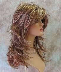 latest layered shaggy hair pictures locshairstylesforwomen hairstylesforwomenmediumlength hair
