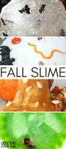 fall slime ideas for sensory play and science activities