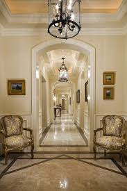 Ceiling Light Crown Molding by Crown Molding Archway Hall Traditional With Arched Doorways Arched