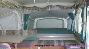 Pop Up Camper Curtains Coleman 1998 Coleman Fleetwood Natchez Pop Up Camper Item C1231