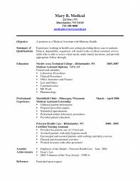 Resume For Medical Assistant Externship Accounting Resume Free Resumes Tips