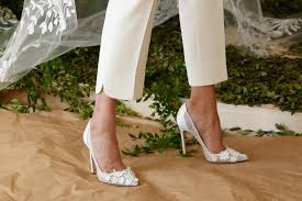 wedding shoes 2017 bridal fashion week 2017 runway shoes footwear news