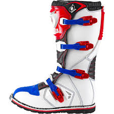 blue motocross boots oneal rider motocross boots black white enduro boat quad mx 42 43