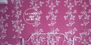 tappezzeria pareti casa la parete a stencil effetto tappezzeria cose di casa
