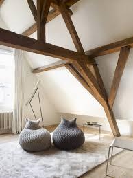 living room bean bags living room wondeful loft room design with brown wooden beam ceiling