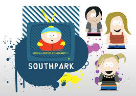 south park powerpoint template comics over millions vectors stock