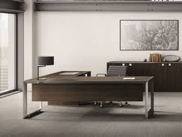 Office Desks Wood Steel And Wood Office Desks Archiproducts
