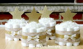 twinkle twinkle baby shower decorations set of 4 mini twinkle twinkle cakes gold
