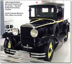 who makes dodge trucks and horace dodge from building the model t to dodge brothers