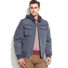 tommy hilfiger blue hooded er jacket product 1 0 normal