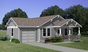 plan 12728ma starter home with style ranch car garage and