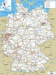 map of germany map of germany with cities and towns major tourist
