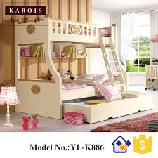 New Bunk Beds 1 5m New Style Wooden Bunk Bed In Children Beds From