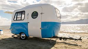 Tiny Furniture Trailer by Happier Camper U0027s Hc1 Is A Retro Travel Trailer With Style