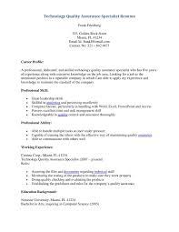 Qa Engineer Resume Example 100 Qa Resume Samples Database Testing Resume Download