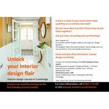 Interior Designer Course by Interior Design Courses And Workshops Cambridge Open Studios