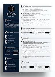 template curriculum vitae creative resume design template free free template for a resume free template