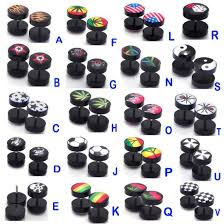 types of earrings for men earrings plugs beautify themselves with earrings