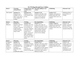 lucy calkins lesson plan template writing through free 4th grade
