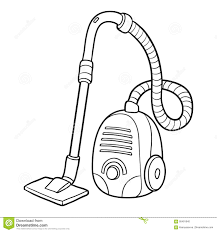 coloring book vacuum cleaner stock vector image 95491640