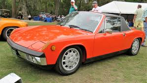 porsche 914 outlaw first porsche werks reunion on amelia island scores big time