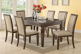 Marble Top Dining Room Table Sets Dining Table Marble Top White Within Set Design 8 Visionexchange Co