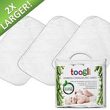 Graco Changing Table Pad Large Changing Pad Liners By Toogli 3 Pk 35 X 18 In
