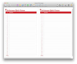 christmas quiz game template for pdf or pages mactemplates com