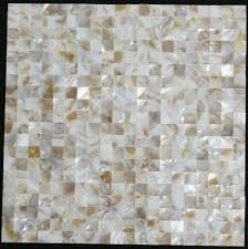 mother of pearl tile backsplash sea shell mosaic kitchen bathroom