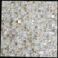 Mother Of Pearl Tile Backsplash Sea Shell Mosaic Kitchen Bathroom - Seashell backsplash