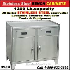 stainless steel workbench cabinets stainless steel workbenches