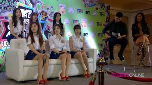 press conference with apink mtv music evolution manila 2016