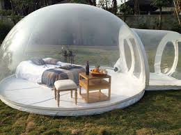 Transparent Tent Transparent Tent Lets You Watch Nature In The Comfort Of Your Own