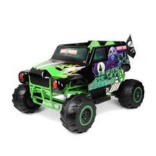 monster trucks grave digger bad to the bone monster jam grave digger 24 volt battery powered ride on walmart com