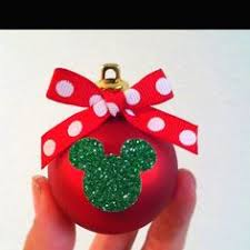 minnie or mickey mouse ornament by beatrice my style